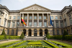 Federal Parliament Brussels - Horizontal Royalty Free Stock Photos