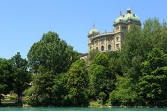 Federal Parliament Building in Bern Royalty Free Stock Photos