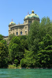 Federal Parliament Building in Bern Stock Images
