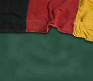 Federal Republic of Germany. Flag of the Federal Republic of Germany on chalkboard Royalty Free Stock Image