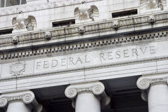 federal reserv för 2 facade Arkivfoton