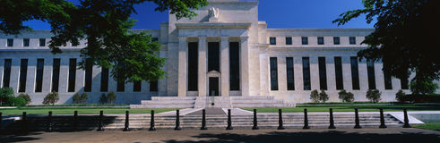 Federal Reserve Bank. This is the Federal Reserve Bank, also known as The Fed where they make monetary policy. Its Federal Chairman is Alan Greenspan. It is an stock image