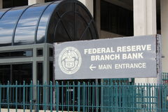 Federal Reserve bank Zdjęcie Royalty Free
