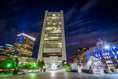 The Federal Reserve Bank of Boston and Federal Reserve Plaza Par Royalty Free Stock Images