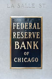 Federal Reserve Bank of Chicago Stock Photo