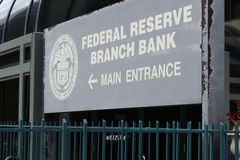 Federal reserve bank Royalty Free Stock Photo