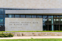 Federal Reserve Bank of Kansas City Royalty Free Stock Images