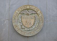 Federal Reserve Bank of St. Louis Royalty Free Stock Photo