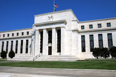 Federal Reserve Building. In Washington DC where the interest rates are controlled Stock Images