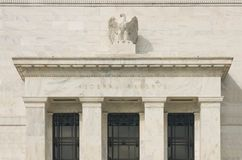 Federal Reserve Building Facade. Stock Image