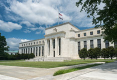 Federal Reserve building HQ Washington DC Royalty Free Stock Image