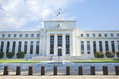 Federal Reserve building in Washington, DC Royalty Free Stock Photos