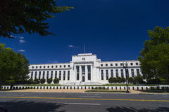 Federal Reserve Building in Washington DC. United States Royalty Free Stock Images