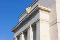 Federal Reserve building in Washington DC, US. Royalty Free Stock Photos