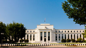 Federal Reserve Building. Washington DC, USA stock image