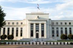 Federal Reserve Building. Washington DC, USA stock photo