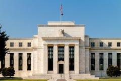 Federal Reserve byggnad Arkivbild