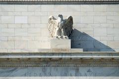 Federal Reserve byggnad royaltyfri bild