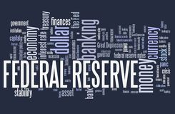 Federal reserve Royalty Free Stock Photos