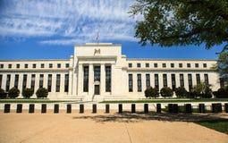 Federal Reserve som bygger Washington DC arkivfoton