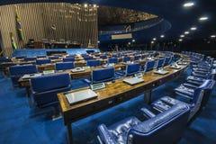 Federal Senate. National Congress Building - Bras�lia - DF - Brazil Stock Photos