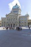 Federal slott i Bern Royaltyfria Foton