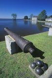 Federal style cannons Stock Photography