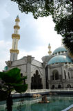 Federal Territory Mosque a.k.a Masjid Wilayah Persekutuan Royalty Free Stock Images