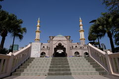 The Federal Territory Mosque, Kuala Lumpur Malaysia at blue sky Stock Photos