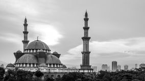 Federal Territory Mosque in Kuala Lumpur Royalty Free Stock Image