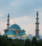 The Federal Territory Mosque, Malaysia I Stock Photos