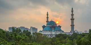 The Federal Territory Mosque, Malaysia III Stock Photos