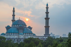 The Federal Territory Mosque, Malaysia VI Stock Image