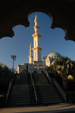 The Federal Territory Mosque or Masjid Wilayah Persekutuan Royalty Free Stock Photography