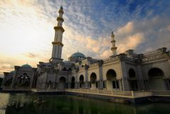 Federal Territory Mosque Stock Photo