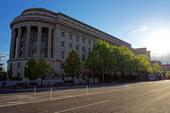 Federal Trade Commission Building in Washington DC Royalty Free Stock Photo