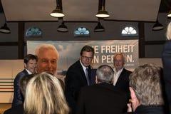 Federal utrikesminister Dr. Guido Westerwelle royaltyfria bilder