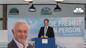 Federal utrikesminister Dr. Guido Westerwelle arkivbild