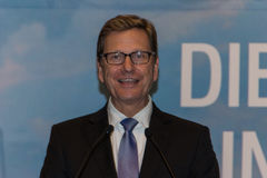 Federal utrikesminister Dr. Guido Westerwelle Royaltyfria Foton