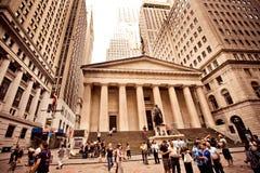 Federala Hall i New York City Arkivfoto