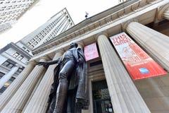 Federala Hall - New York City Royaltyfri Bild