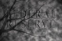 Federale reserve in granietsteen Royalty-vrije Stock Afbeelding