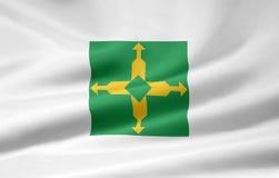 Federale vlag van Distrito stock illustratie