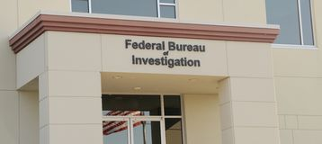Federalne Biuro Śledcze Zdjęcia Royalty Free