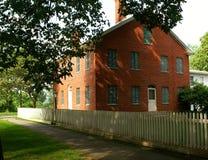 federalt historiskt hus royaltyfria bilder