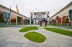 Federalt kansli, Berlin, Tyskland fotografering för bildbyråer