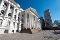 Federalt universitet av den Parana staten royaltyfria foton