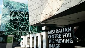 Free Federation Square And ACMI Stock Photo - 53542480