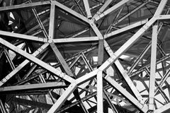 Federation Square architecture. Stock Photos