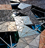 Federation Square Design. Federation Square metal design in Melbourne, Australia royalty free stock photography